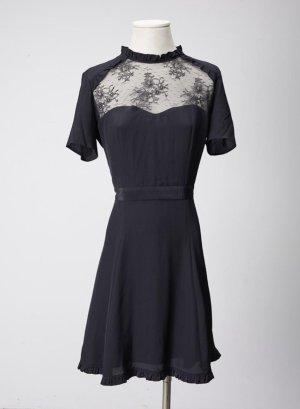 The Kooples, 38 schwarzes Kleid