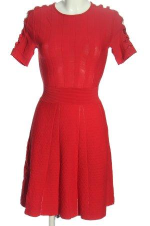 The Kooples A-Linien Kleid rot Business-Look