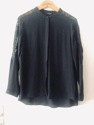 The Kooples Bluse mit Spitze Größe L