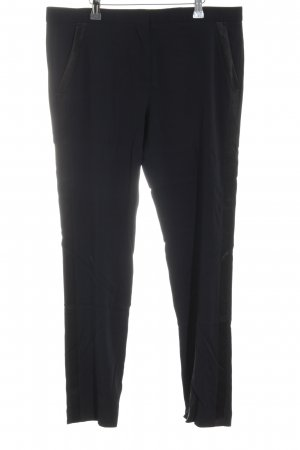 The Kooples Bundfaltenhose schwarz Casual-Look