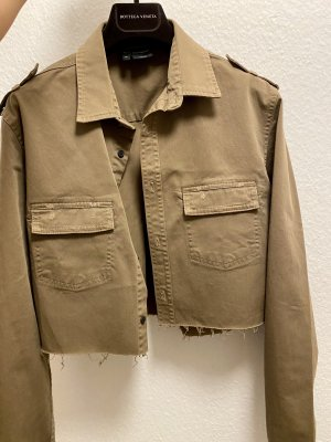 The Kooples cropped Overshirt / Jacke