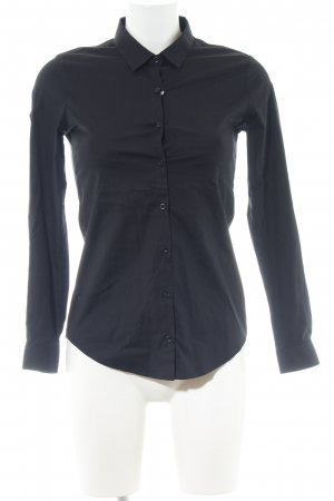 The Kooples Hemd-Bluse schwarz Business-Look