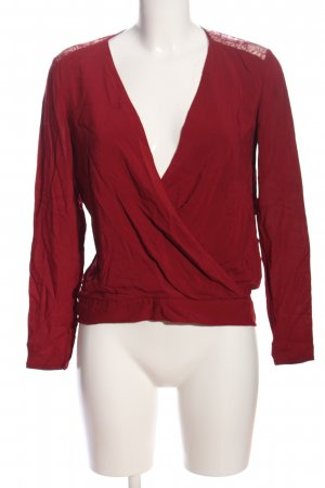 The Kooples Hemd-Bluse rot Business-Look