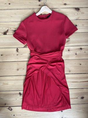 THE KOOPLES Kleid mit Wickeloptik Gr S NEU