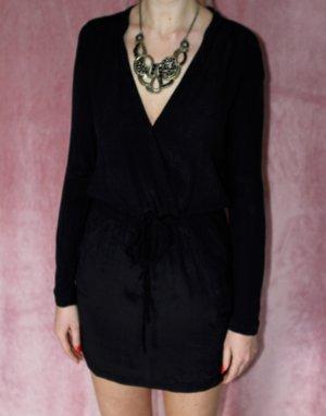 The Kooples Kleid XS 34 Schwarz Blusenkleid