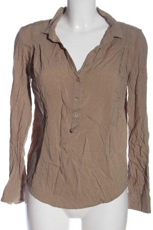 The Kooples Langarm-Bluse braun Casual-Look