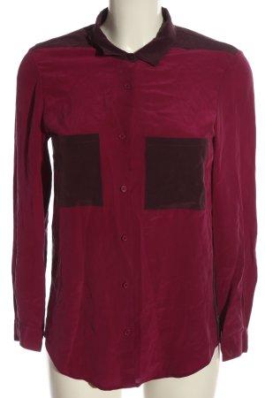 The Kooples Langarmhemd rot-schwarz Casual-Look
