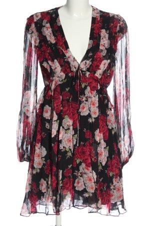 The Kooples Longsleeve Dress flower pattern casual look