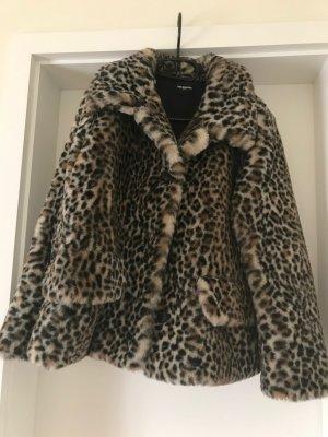 The Kooples Leopardenprint Jacke Fake Fur  Gr. S