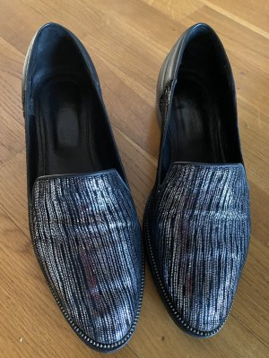 The Kooples Loafers silber