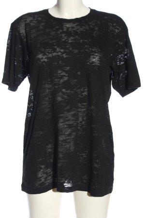 The Kooples Longshirt schwarz Casual-Look