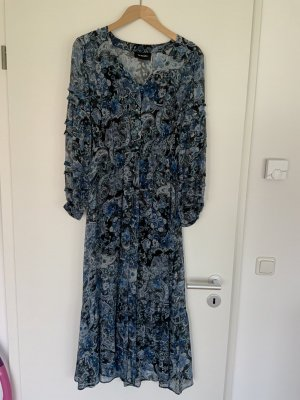 The Kooples Maxi Kleid Paisley Blau, Größe 2 (36)