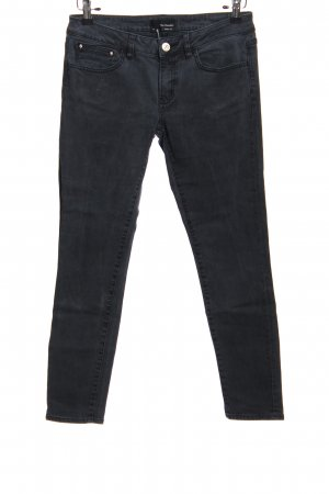 The Kooples Jeans a sigaretta nero stile casual