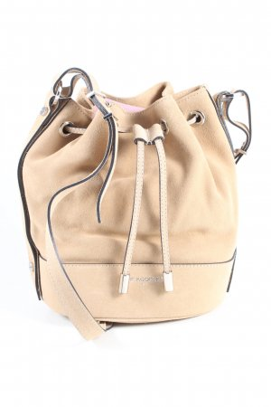 The Kooples Schultertasche creme Casual-Look