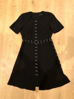 The Kooples schwarzes Kleid