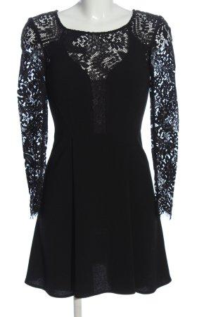 The Kooples Spitzenkleid schwarz Elegant