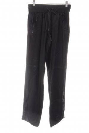 The Kooples Stoffhose schwarz Casual-Look