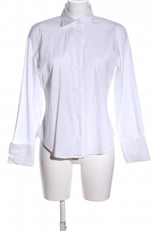 The Limited Langarm-Bluse weiß Business-Look