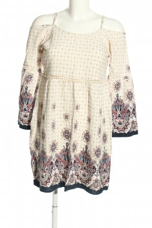 The Love Tree Long-Bluse Allover-Druck Casual-Look