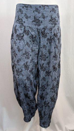 The Masai Clothing Company Haremki czarny-stalowy niebieski