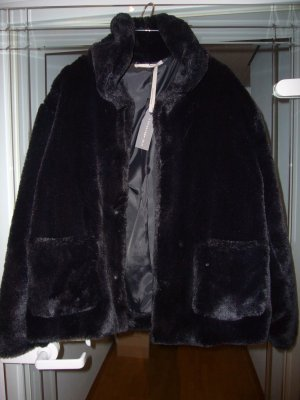 (The Mercer) NY Veste en fourrure noir polyester