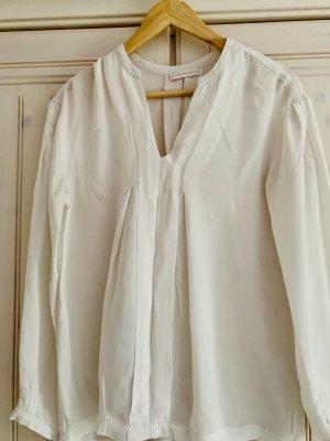 (The Mercer) NY Blusa in seta bianco sporco