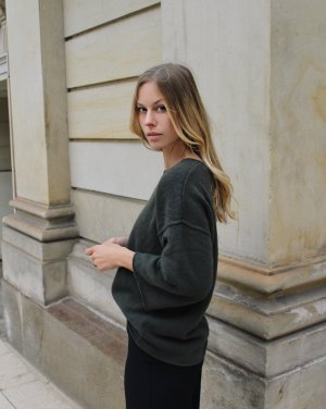 (The Mercer) NY Knitted Sweater multicolored cashmere