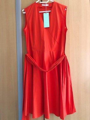 (The Mercer) NY Vestido cruzado rojo Algodón