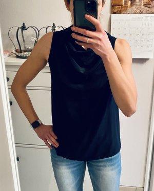 (The Mercer) NY Zijden blouse donkerblauw