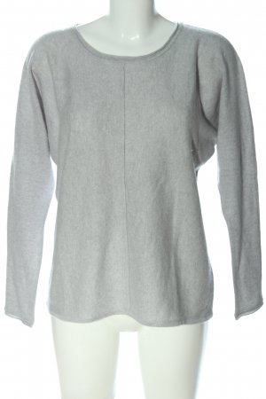 (The Mercer) NY Cashmere Jumper light grey casual look
