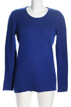 (The Mercer) NY Kasjmier trui blauw casual uitstraling