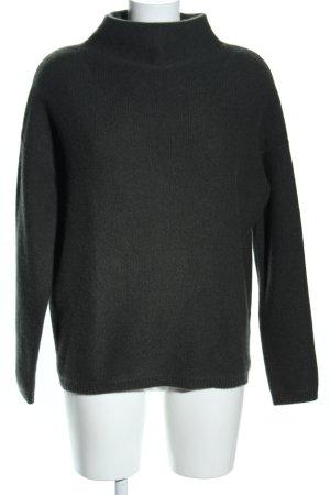 (The Mercer) NY Kasjmier trui khaki casual uitstraling
