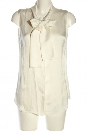 (The Mercer) NY Blusa brillante blanco puro elegante