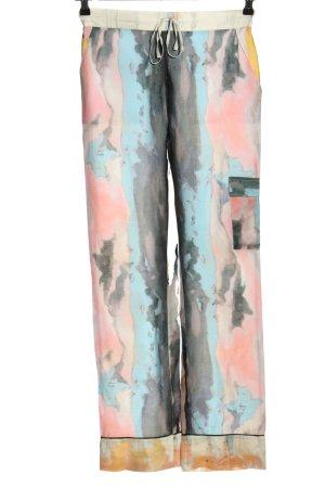 (The Mercer) NY Pantalon taille haute multicolore style décontracté