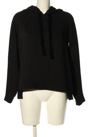 (The Mercer) NY Camicia con cappuccio nero stile casual