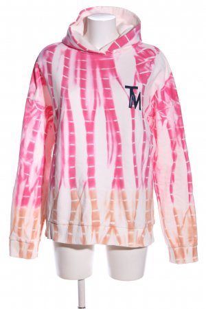 (The Mercer) NY Kapuzensweatshirt abstraktes Muster sportlicher Stil