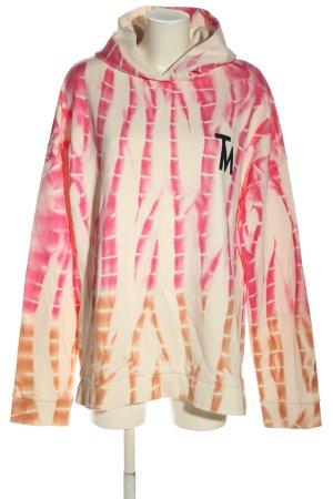 (The Mercer) NY Sweat à capuche motif abstrait style décontracté