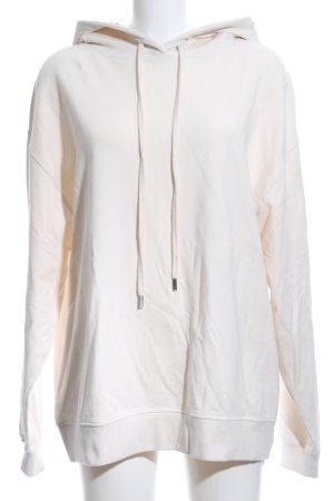 (The Mercer) NY Kapuzensweatshirt creme sportlicher Stil