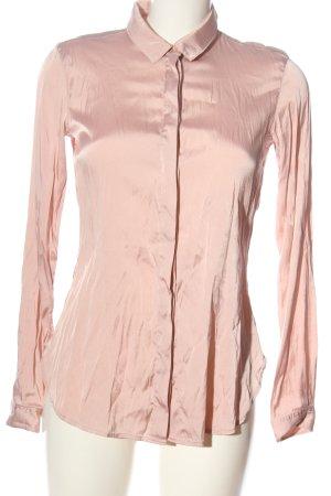 (The Mercer) NY Camisa de manga larga rosa look casual