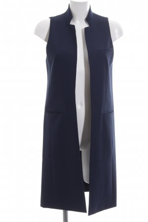 (The Mercer) NY Blazer long bleu foncé style d'affaires