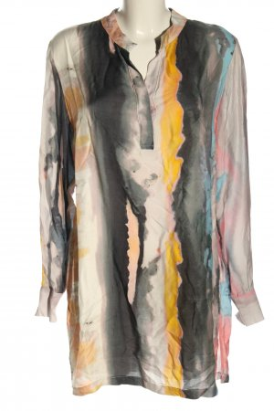 (The Mercer) NY Lange blouse abstract patroon casual uitstraling