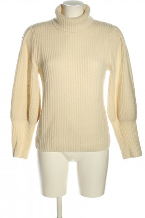 (The Mercer) NY Turtleneck Sweater cream casual look