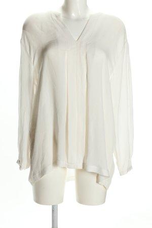 (The Mercer) NY Blusa caída blanco look casual