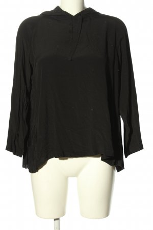 (The Mercer) NY Schlupf-Bluse schwarz Casual-Look
