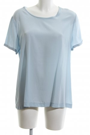 (The Mercer) NY Seidenbluse blau Casual-Look