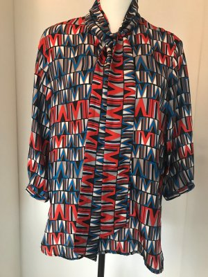 (The Mercer) NY Blouse en soie multicolore