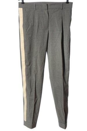 (The Mercer) NY Pantalon en jersey gris clair-crème style d'affaires