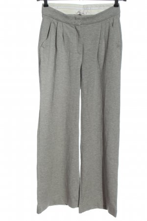 (The Mercer) NY Stoffen broek lichtgrijs gestippeld casual uitstraling