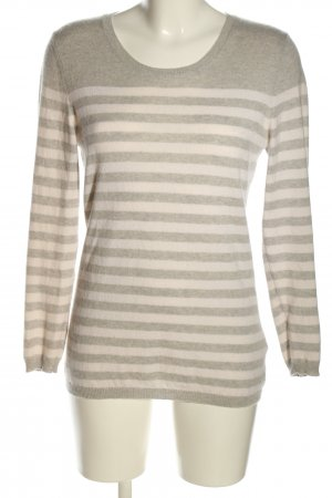 (The Mercer) NY Strickpullover weiß-hellgrau meliert Casual-Look