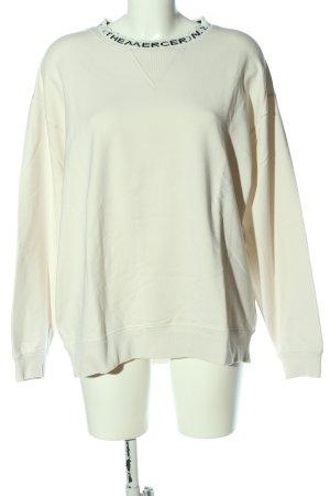 (The Mercer) NY Sweatshirt wit gedrukte letters casual uitstraling